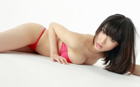 Hot Japanese women in pink lingerie