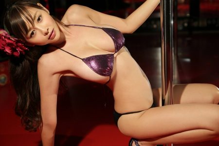 Sexy Japenese women on the pole