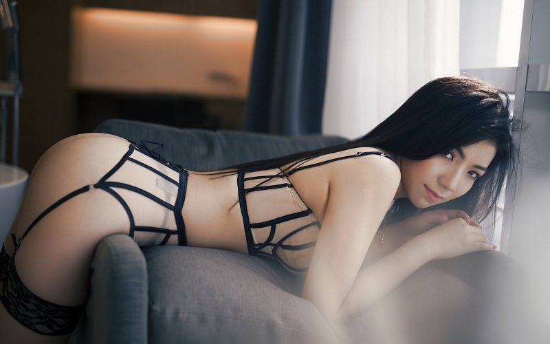 Asian Escorts in lingerie