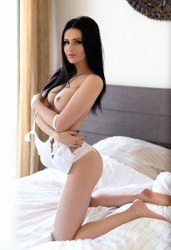 Erika Brunette Leggy Girl