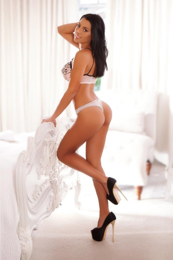 Micaela Brunette Big Boobs Escort